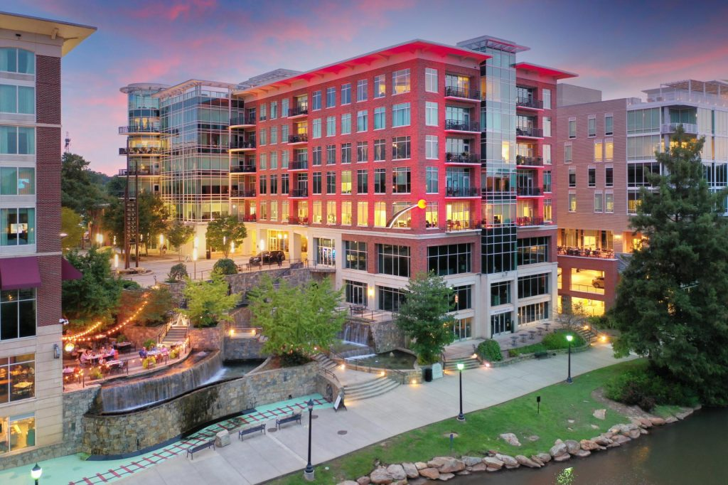 downtown greenville riverplace photography