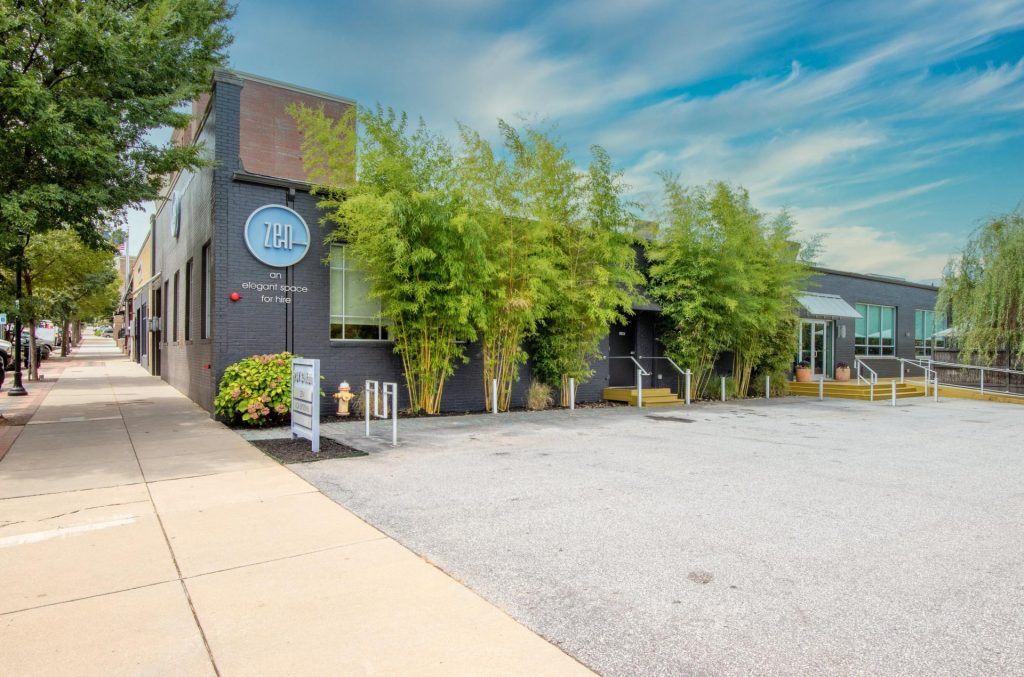 exterior building photography greenville sc