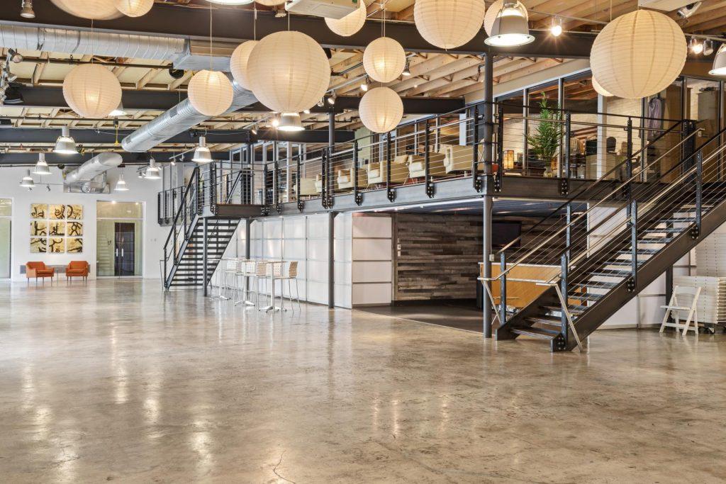 zen event building - greenville sc - interior photo