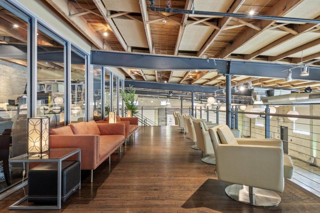 modern seating area - interior building photo - ben ivins media